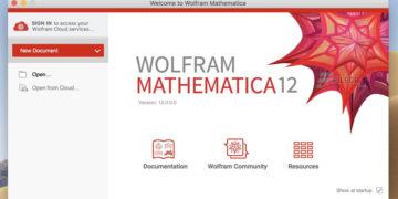 Wolfram Mathematica 12.2.0