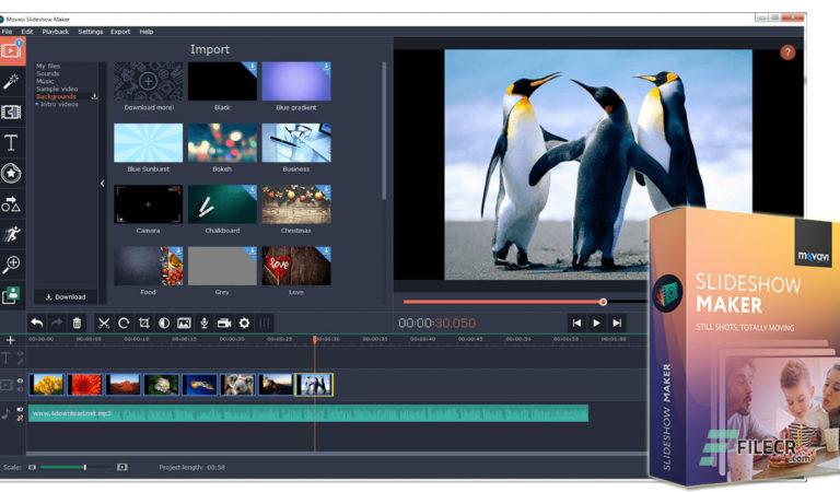 Télécharger Movavi Slideshow Maker 7.2.1  (version complete)